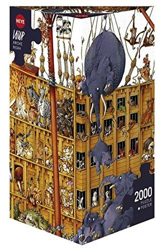Heye 94036 Loup - Puzzle (2000 piezas), diseño del Arca de Noé