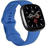 RAZAN Silicona Correa Compatible con Apple Watch 38mm 42mm 40mm 44mm,Pulseras de Repuesto de Silicona Suave para iWatch Serie
