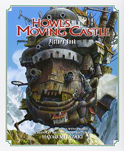 Howl's moving castle : picture book