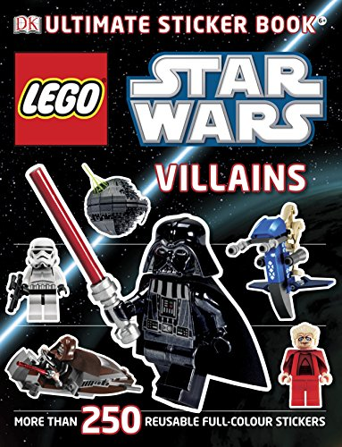 LEGO® Star Wars Villains Ultimate Sticker Book (Ultimate Stickers) (Star Wars Ultimate Lego)