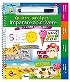 eBook Gratis da Scaricare Imparare a scrivere Quattro passi per Ediz a colori Ediz a spirale Con gadget (PDF,EPUB,MOBI) Online Italiano