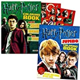 Harry Potter Coloring Book Super Set 2 Coloring Books With Stickers, Posters And Bookmarks