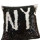 Best Home Fashion Designs Covers Sofa - Verlike réversible sirène Taie d'oreiller à paillettes Coque Review