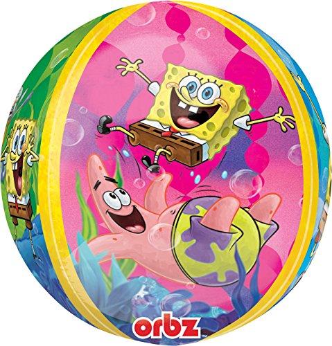 Amscan 15Zoll/38cm Orbz Folienballon Spongebob Squarepants