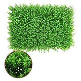 LVZAIXI Siepe di Piante Artificiali  Falsa Pianta Verde  Foto Sfondo Muro  Decor Fotografia for Giardino Schermata Privacy (Color : D, Size : 40x60cm)