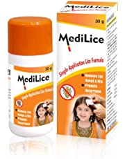 Medilice Anti Lice Cream Wash 30 G (Pack Of 6)