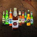 Biere der Welt - Bier Probier Paket - Weihnachtsgeschenkidee für Freund, Weihnachtsgeschenk für Freund oder ausgefallene Geschenke (9 besondere Biere) -