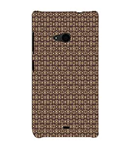 Speakers Abstract 3D Hard Polycarbonate Designer Back Case Cover for Nokia Lumia 535 :: Microsoft Lumia 535
