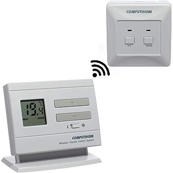 Salus Rt300rf Termostato Elettronico Radiocomandato Amazon It Fai