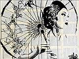 Posterlounge Alu Dibond 120 x 90 cm: Blüten von Loui Jover