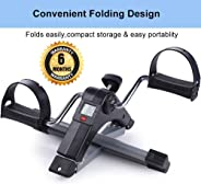 HB Mall India Fitness Cycle-Foot Pedal Exerciser-Foldable Portable Foot,Hand,Arm,Leg Exercise Pedaling Machine - Folding Min