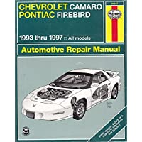 Haynes Chevrolet Camaro & Pontiac Firebird, 1993-1997 - 2000 Pontiac Firebird