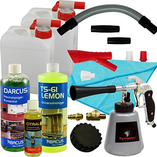 ROTADOR + TORNADOR Black Z-Coussinets 020 S Kit de nettoyage universel – Nettoyant Plastique Nettoyant détachant pour tissus
