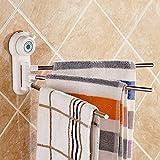 #3: divinext Towel Hanger Arm 3 Bars For Kitchen, Bathroom