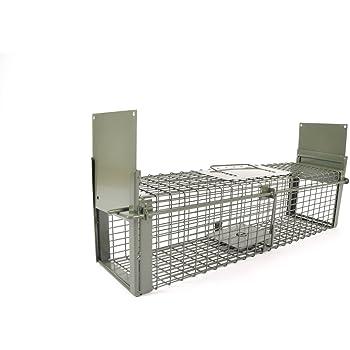 kraptrap® Tierfalle Siebenschläferfalle Rattenfalle 60 x 17 x 17 cm