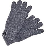 Jack&Jones Handschuhe Herren U Grau 12128136 JACDNA GLOVES GREY MELANGE