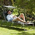 Blumfeldt Amalfi Noble Gray Sonnenliege von Blumfeldt auf Gartenmöbel von Du und Dein Garten
