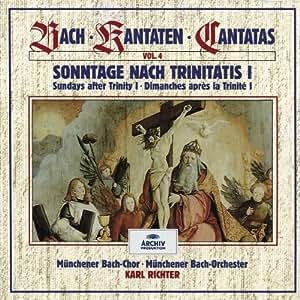 Bach: Cantatas, Vol 4 - Sundays after Trinity I /Richter