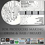 Drum & Bass Massive - WAV LOOPS (3100 Loops) Pack - For Ableton live, Steinberg Cubase / Nuendo, Sony Acid, Fruity Loops Studio, Allple Logic, Avid Pro Tools, N.I
