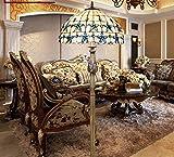 Continental Schlafzimmer Lilac 16-Zoll-Shells Stehlampe Tiffany Lampen idyllischen mediterranen Wohnzimmer Fussboden Lampe Lampe
