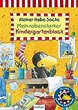 Der kleine Rabe Socke: Mein rabenstarker Kindergartenblock