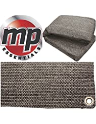 MP Essentials - Estera transpirable y resistente al agua para exterior, para suelo y tiendas de campaña, color ANTHRACITE & GREY, tamaño 2.5 x 5m