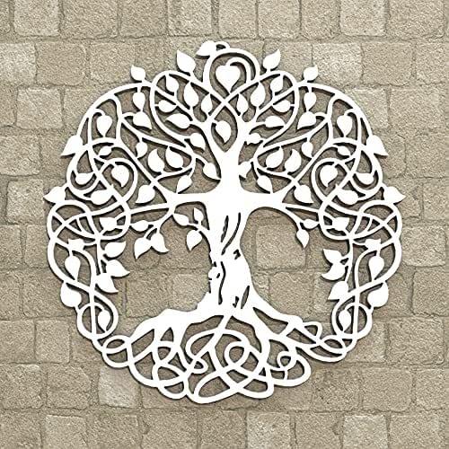 Albero della vita Wall art Decorazione Casa Parete Spirituale Meditazione