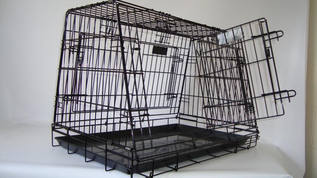 doghealth Shaped car crate 30″ x 20″ with escape hatch GYC03PF