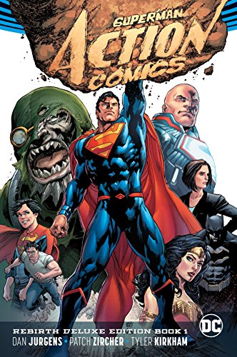 In these stories from ACTION COMICS #957-966 and JUSTICE LEAGUE #52, collected for the first time in hardcover, Superman returns to Metropolis just in time to meet the city's newest protector: Lex Luthor. But the dueling titans soon meet someone unex...