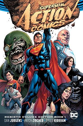 Superman: Action Comics: The Rebirth Deluxe Edition Book 1 (Rebirth) (Super Hero Squad Comic)
