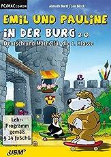 Emil und Pauline in der Burg 2.0 - Deutsch und Mathe für die 1. Klasse (CD-ROM)