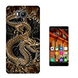 002693 - Brown Whimsical Chinese Dragon Design Elephone