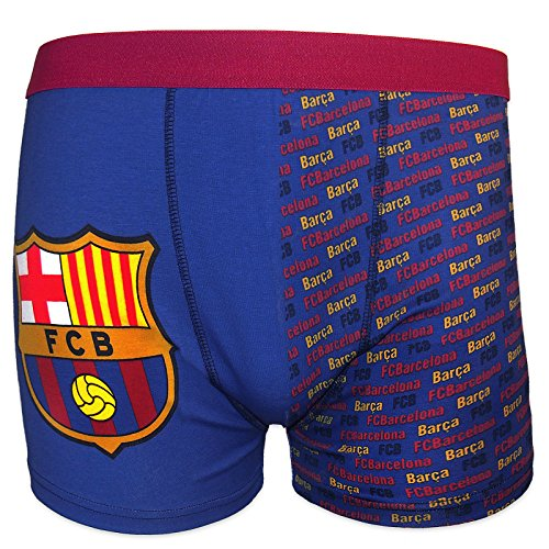 FC Barcelona - Calzoncillos oficiales de estilo bóxer - Para hombre - Con  el escudo del 3887eb3abf97c