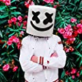 Supmaker Marshmello Cosplay Mask, Marshmello Helmet DJ masks Party Props for Marshmello Fans by Supmaker
