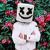 Supmaker Casco DJ Marshmello, Maschera Marshmello per Adulti e Bambini