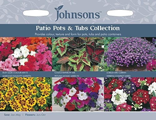 Johnsons UK/JO/FC Patio Pots and Tubs Collection
