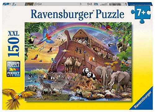 Ravensburger 10038 - Unterwegs mit der Arche Kinderpuzzle (Große Puzzle-teile)