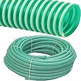 FITT Spiralschlauch PVC Druckschlauch und Saugschlauch Meterware 1 bis 4 Zoll (1 1/4 Zoll / 32 x 2.7mm)