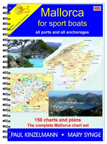 MALLORCA FOR SPORT BOATS - all ports and all anchorages (2017) Coastal Marine Charts