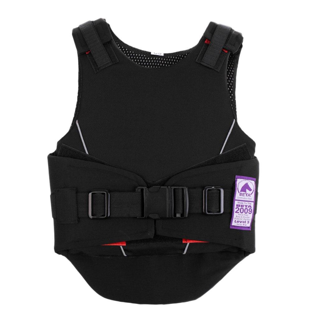 perfk Kinder Reitschutzweste Reitsicherheitsweste, Schutz Kleidung