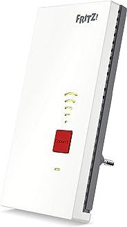 AVM FRITZ!WLAN Mesh Repeater 2400 (Dual-WLAN AC + N bis zu 1.733 MBit/s (5GHz) + 600 MBit/s(2,4 GHz), 1x Gigabit-LAN, deutsc