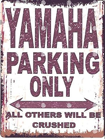 8 X 10 YAmAhA SIGNE DE STATIONNEMENT STYLE VINTAGE 8 X 10 CM/20 X 25 CM-JARDIN GARAGE ATELIER DÉCORATION MURALE EN