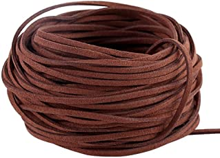 iDream 3mm Suede Cord Lace Faux Leather String for Jewelry Making Beading Craft