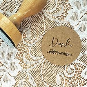 Stempel Hochzeit - Danke - Serie: Greenery - Danksagungen