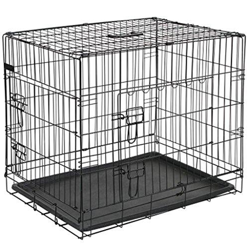@Pet Hunde-Transportkäfig Metall 50,8 x 30,5 35,5 cm Schwarz 15006