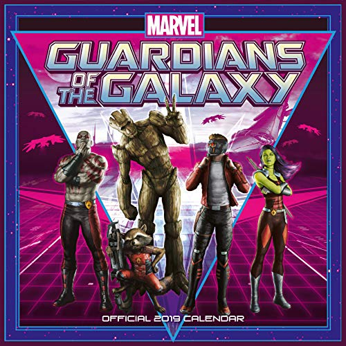 Guardians of the Galaxy Official 2019 Calendar - Square Wall Calendar Format par  Marvel Guardians of The Galaxy