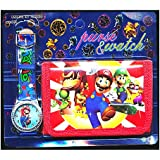 nintendo turnbeutel mario blau games. Black Bedroom Furniture Sets. Home Design Ideas
