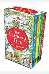 Enid Blyton The Magic Faraway Tree Collection 4 Books Box Set Pack (Up The Faraway Tree, The Magic Faraway Tree, The Folk of the Faraway Tree, The Enchanted Wood) Paperback
