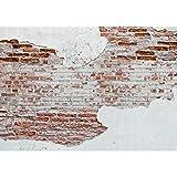 Fototapete Steinwand 396 x 280 cm Vlies Wand Tapete Wohnzimmer Schlafzimmer Büro Flur Dekoration Wandbilder XXL Moderne Wanddeko - 100% MADE IN GERMANY - Stein Steinmauer Steinoptik Runa Tapeten 9083012a