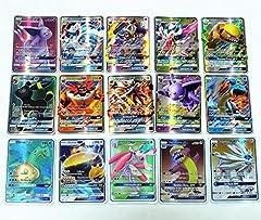 Idea Regalo - Carte Pokemon Sun & Moon: le rare carte GX da 60 pezzi, il miglior regalo (lingua italiana non garantita)